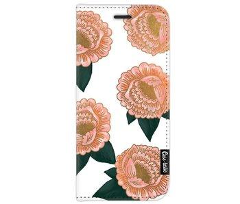 Winterly Flowers - Wallet Case White Samsung Galaxy J7 (2017)