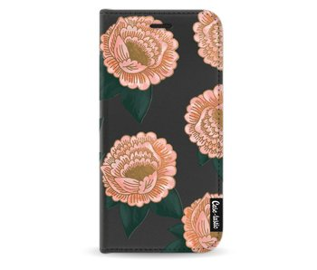 Winterly Flowers - Wallet Case Black Samsung Galaxy A5 (2017)