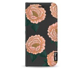 Winterly Flowers - Wallet Case Black Samsung Galaxy J5 (2017)