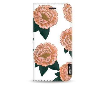 Winterly Flowers - Wallet Case White Samsung Galaxy J5 (2017)