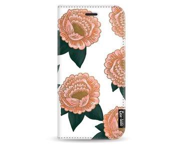 Winterly Flowers - Wallet Case White Motorola Moto G5