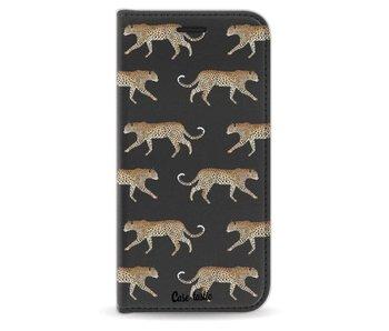 Hunting Leopard - Wallet Case Black Apple iPhone 5 / 5s / SE