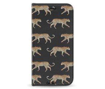 Hunting Leopard - Wallet Case Black Samsung Galaxy A5 (2017)