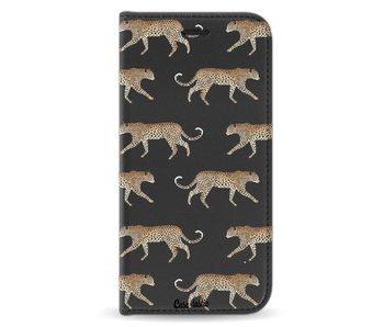Hunting Leopard - Wallet Case Black Samsung Galaxy J5 (2017)