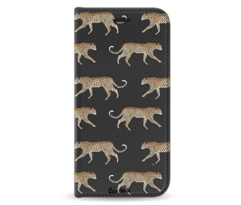 Hunting Leopard - Wallet Case Black Apple iPhone X