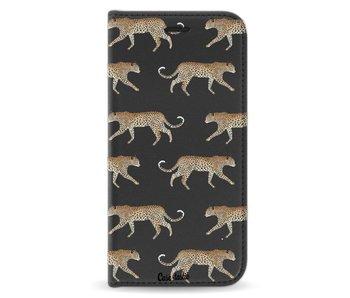 Hunting Leopard - Wallet Case Black Apple iPhone X