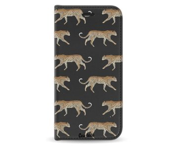 Hunting Leopard - Wallet Case Black Motorola Moto G5