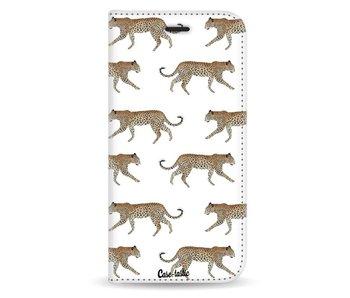 Hunting Leopard - Wallet Case White Motorola Moto G5