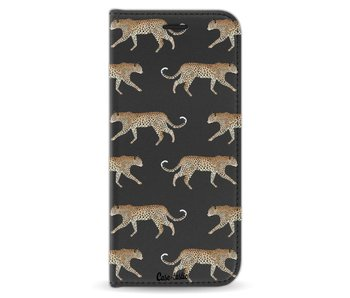 Hunting Leopard - Wallet Case Black Samsung Galaxy S8