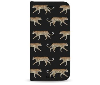 Hunting Leopard - Wallet Case Black Samsung Galaxy S8 Plus