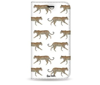 Hunting Leopard - Wallet Case White Samsung Galaxy S8 Plus