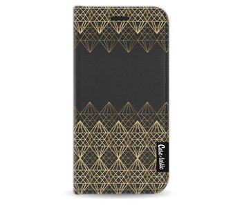 Golden Diamonds - Wallet Case Black Apple iPhone 5 / 5s / SE
