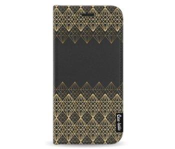 Golden Diamonds - Wallet Case Black Samsung Galaxy A5 (2017)