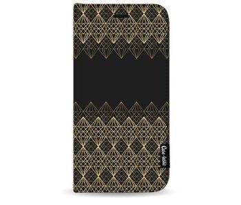 Golden Diamonds - Wallet Case Black Samsung Galaxy S8 Plus