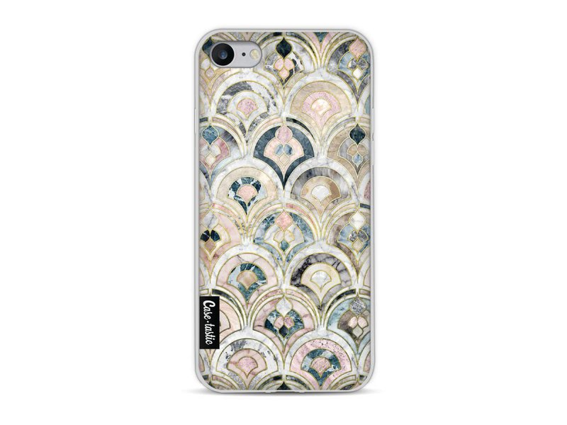Casetastic Softcover Apple iPhone 8 - Art Deco Marble Tiles