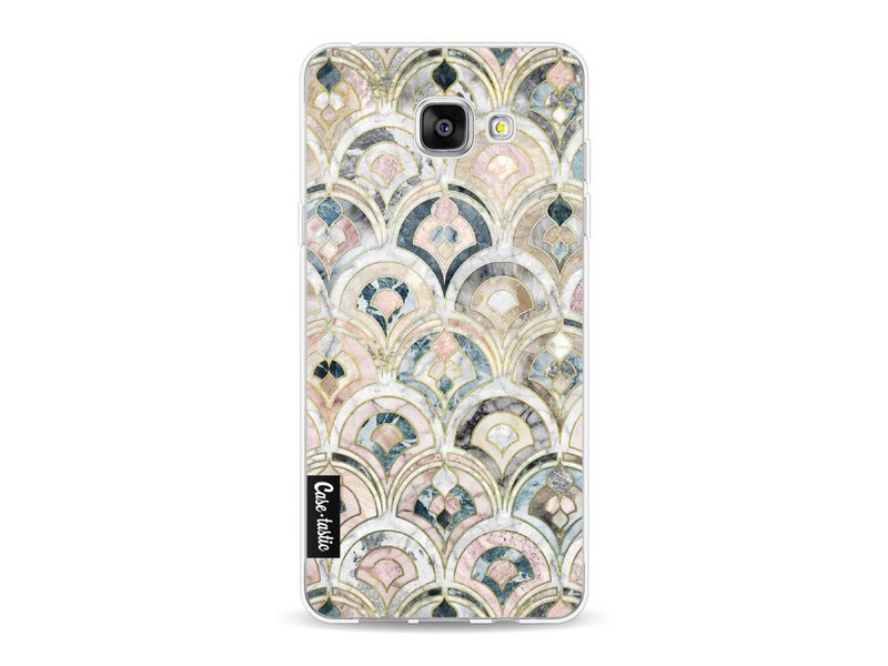 Casetastic Softcover Samsung Galaxy A5 (2016) - Art Deco Marble Tiles