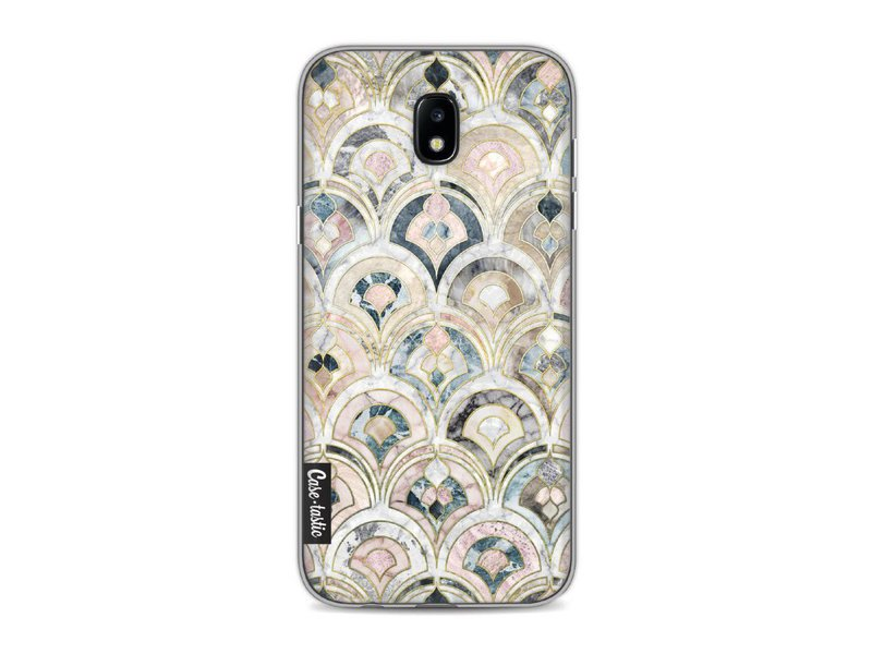 Casetastic Softcover Samsung Galaxy J5 (2017) - Art Deco Marble Tiles