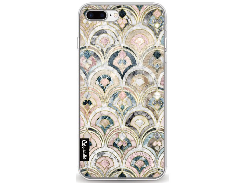 Casetastic Softcover Apple iPhone 7 Plus - Art Deco Marble Tiles