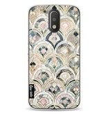 Casetastic Softcover Motorola Moto G4 / G4 Plus - Art Deco Marble Tiles