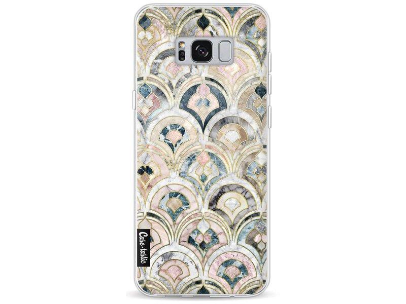 Casetastic Softcover Samsung Galaxy S8 Plus MAG WEG - Art Deco Marble Tiles
