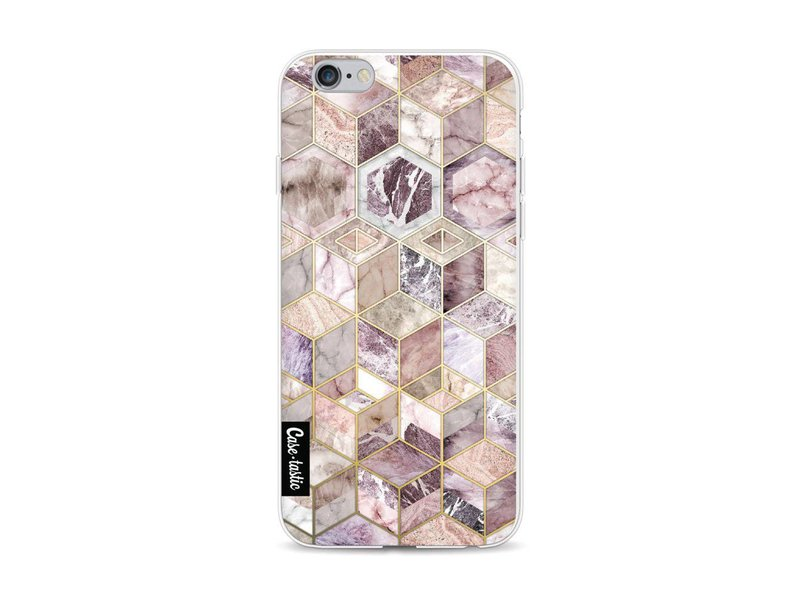 Casetastic Softcover Apple iPhone 6 / 6s - Blush Quartz Honeycomb