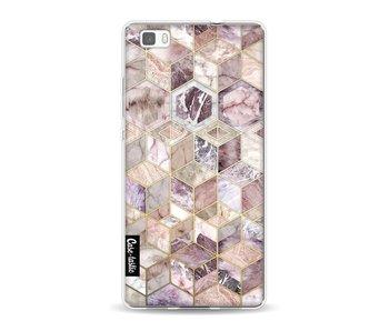 Blush Quartz Honeycomb - Huawei P8 Lite