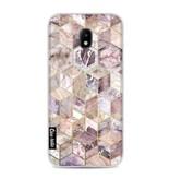 Casetastic Softcover Samsung Galaxy J3 (2017) - Blush Quartz Honeycomb