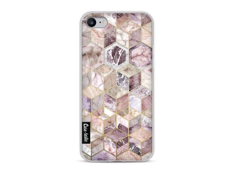 Casetastic Softcover Apple iPhone 8 - Blush Quartz Honeycomb