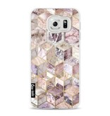 Casetastic Softcover Samsung Galaxy S6 - Blush Quartz Honeycomb