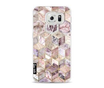Blush Quartz Honeycomb - Samsung Galaxy S6