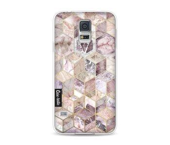 Blush Quartz Honeycomb - Samsung Galaxy S5