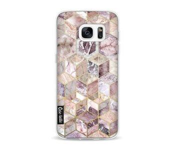 Blush Quartz Honeycomb - Samsung Galaxy S7