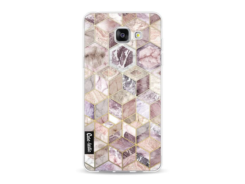 Casetastic Softcover Samsung Galaxy A5 (2016) - Blush Quartz Honeycomb