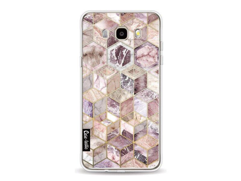 Casetastic Softcover Samsung Galaxy J5 (2016) - Blush Quartz Honeycomb