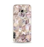 Casetastic Softcover Samsung Galaxy A3 (2017)  - Blush Quartz Honeycomb