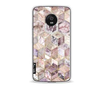 Blush Quartz Honeycomb - Motorola Moto G5