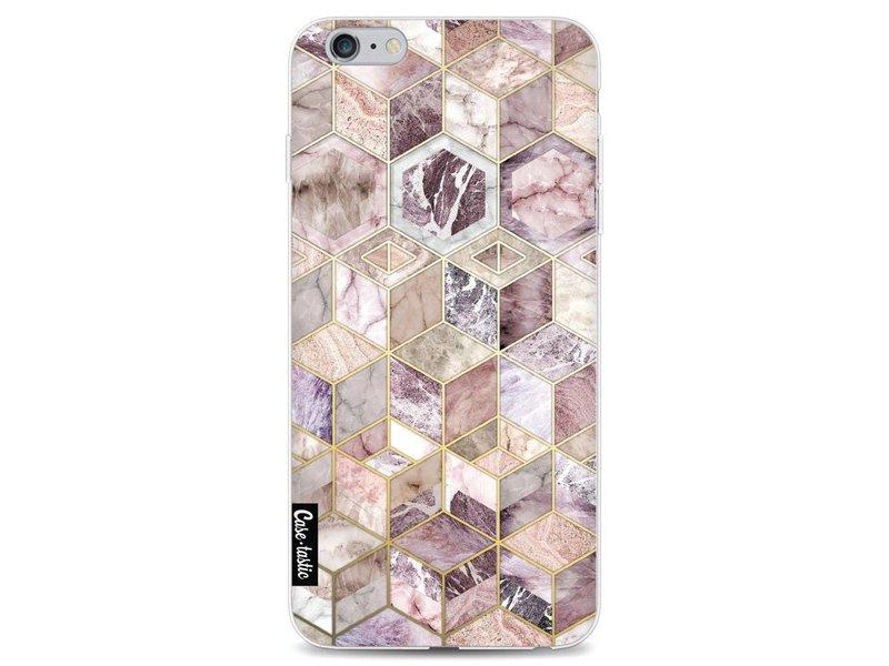 Casetastic Softcover Apple iPhone 6 Plus / 6s Plus - Blush Quartz Honeycomb