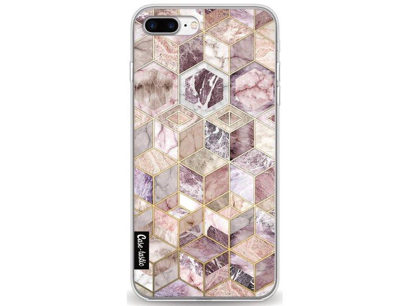 Casetastic Softcover Apple iPhone 7 Plus - Blush Quartz Honeycomb