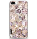 Casetastic Softcover Apple iPhone 8 Plus - Blush Quartz Honeycomb