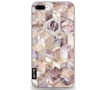 Blush Quartz Honeycomb - Apple iPhone 8 Plus