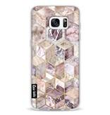 Casetastic Softcover Samsung Galaxy S7 Edge - Blush Quartz Honeycomb