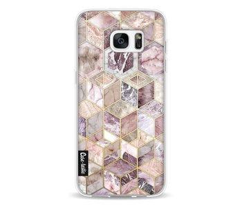 Blush Quartz Honeycomb - Samsung Galaxy S7 Edge