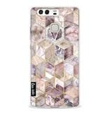 Casetastic Softcover Huawei P9 - Blush Quartz Honeycomb