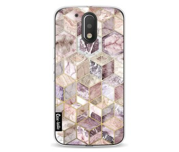 Blush Quartz Honeycomb - Motorola Moto G4 / G4 Plus