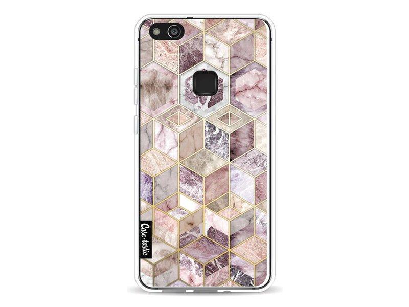 Casetastic Softcover Huawei P10 Lite - Blush Quartz Honeycomb