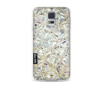 Mint Art Deco Marbling - Samsung Galaxy S5