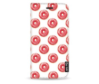 All The Donuts - Wallet Case White Samsung Galaxy J3 (2017)