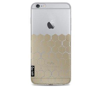 Golden Hexagons - Apple iPhone 6 Plus / 6s Plus
