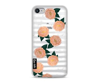 Striped Winter Flowers - Apple iPhone 8