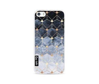 Blue Hexagon Diamonds - Apple iPhone 5 / 5s / SE